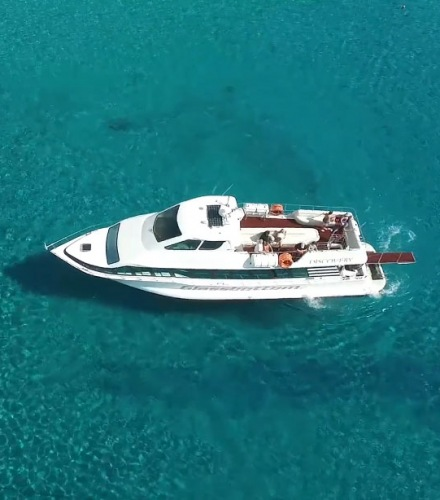 Discovery Glassbottom Yacht Video