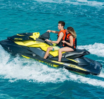 Enjoy Jetski & live the summer fun of Water Sports in Mykonos