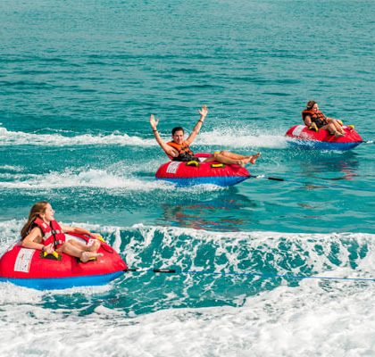 Enjoy Tubes & live the summer fun of Water Sports in Mykonos