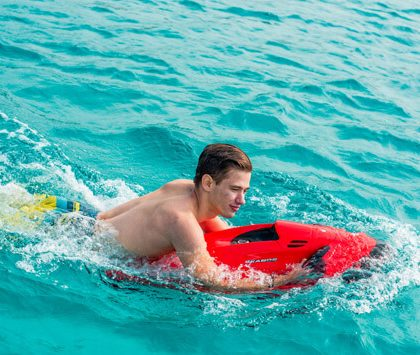 Enjoy Seabob ride & live the summer fun of Water Sports in Mykonos