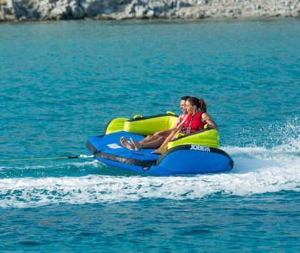 Ride on the Sofa & live the summer fun of Water Sports in Mykonos